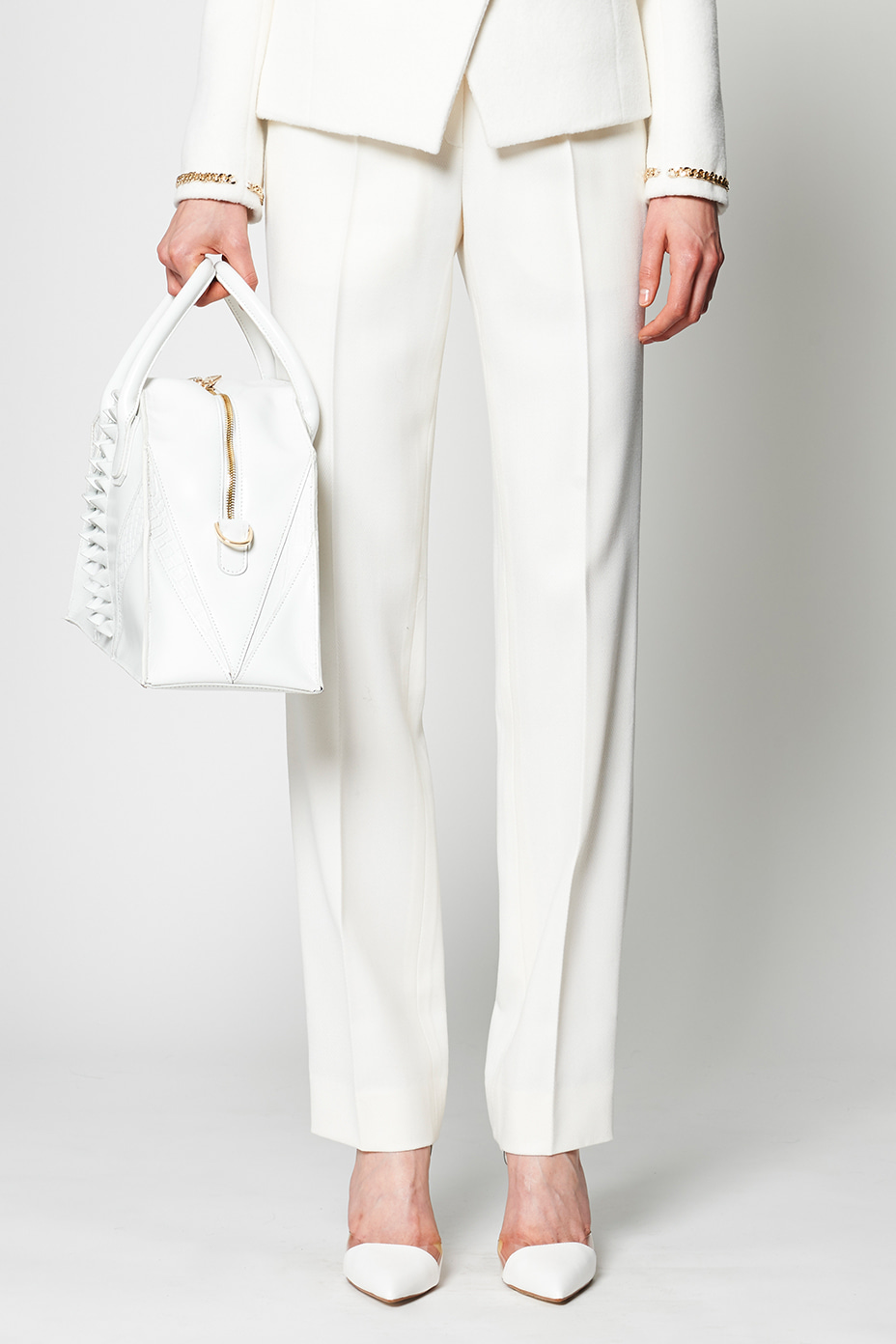 [Runway_Order Made] Noisy Classic Angora tailored trouser
