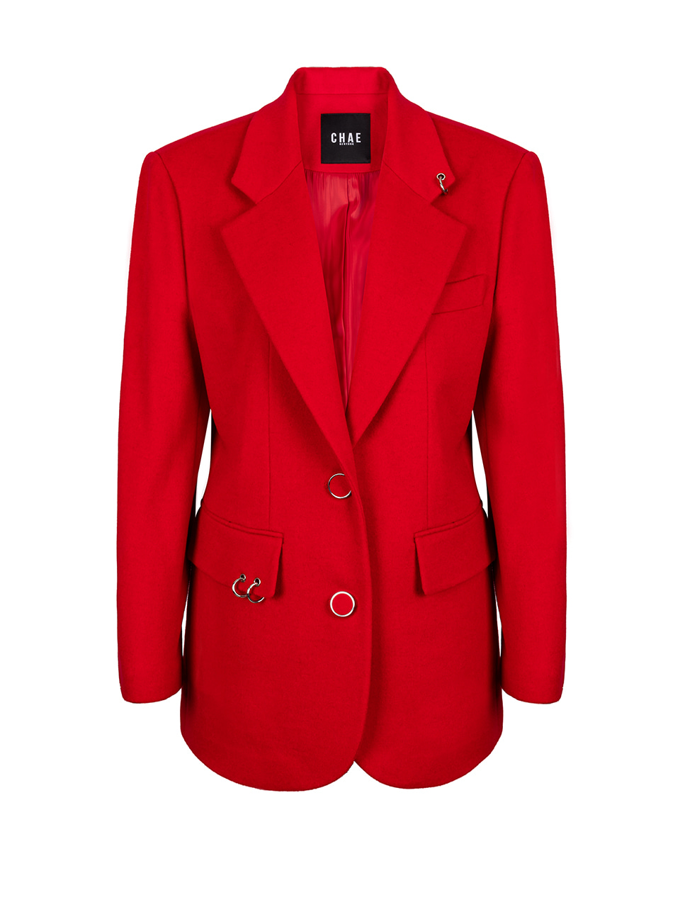 Back to classic tailored jacket [Red]