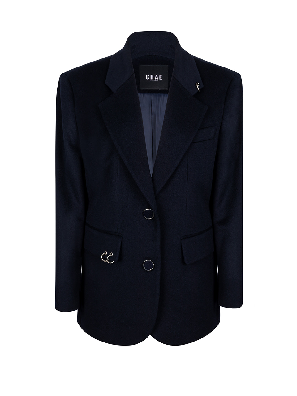 Back to classic tailored jacket [Deep Navy]