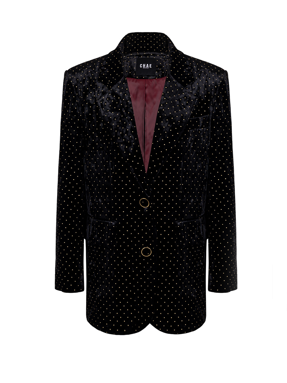 New to classic tailored jacket [Black Velevet]